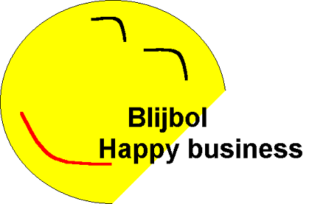 Blijbol, happy business